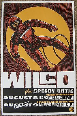 WILCO 2015 Gig POSTER Bend & Edgefield Portland Oregon Concert