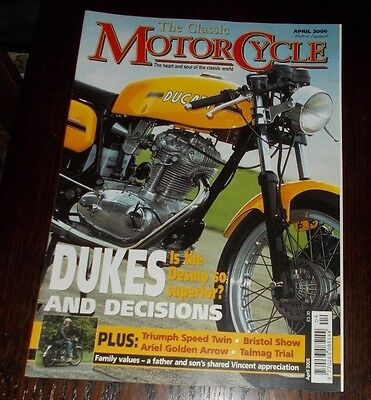 Magazine - The Classic Motorcycle April 2006