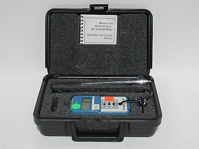 TSI VelociCheck Model 8330 Air Velocity Meter with Power Supply and Case