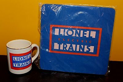 Lionel Electric Trains Mug and Mouse Pad - NEW