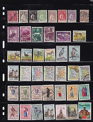 Angola 103 Used Stamps