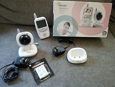Oricom Wireless Video Baby Monitor Digital In Great Condition