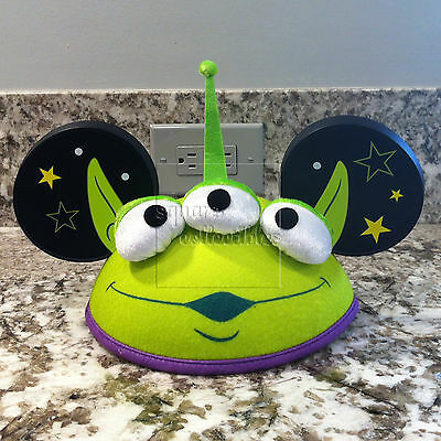 Disney Parks & Pixar Toy Story Little Green Men/Aliens Mickey Ears Hat - Adult