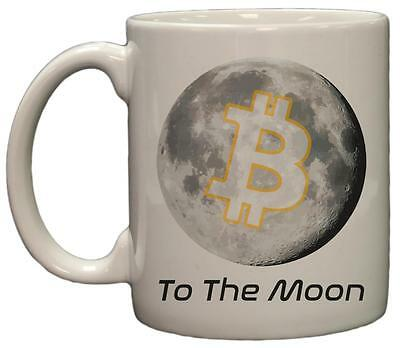 Bitcoin to the Moon 11oz Coffee Mug