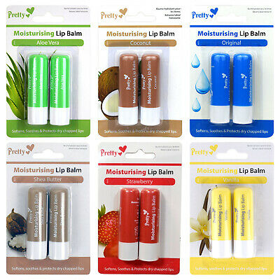 Pretty Smile Lip Balm Twin Pack,Various Available Pick Yours
