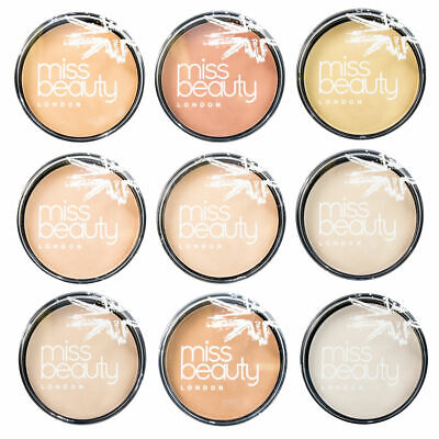 Miss Beauty London Smooth Silk Finish Pressed Powder, Various Shades Available