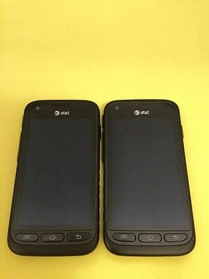 Good Lot 2 Samsung I547 For At&t & Gsm Factory Unlocked Galaxy Rugby Pro
