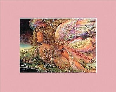 Sumptuous Matted Pagan Art * Josephine Wall * Nature's Angel