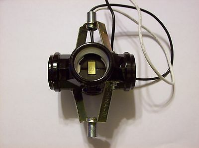 """4 Lite Cluster Socket With 11"""" Wire Leads Lamp Part New 47702Jb"""