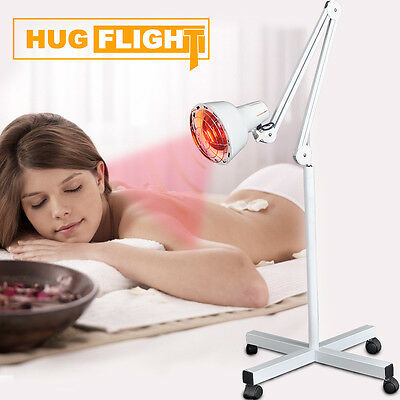 Infra Infrared Red Heat Lamp Adjustable Temp Burn Fat Slim Massage Beauty Salon
