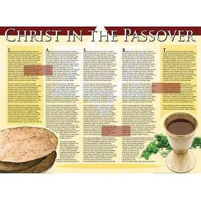 Chart-Christ In The Passover Wall (Laminated)