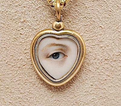 Edith Weber Antique Jewelry Madison Avenue NYC Lovers EYE $7500 in 2003 c1810