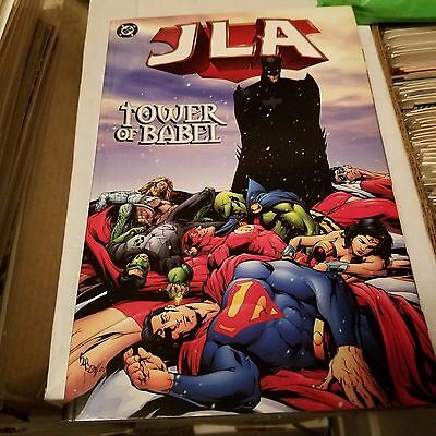 JLA Tower of Babel, Hard to Find, Softcover TPB, Batman