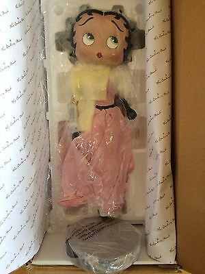 Betty Boop Limited Edition Collector Porcelain Doll