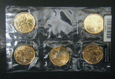 2011 Canada $1 Parks Canada 5-Pack Centennial Loonie coin Mint Sealed Dollar