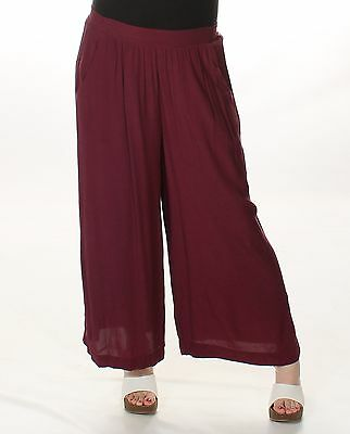 SANCTUARY Solid BURGUNDY Casual Pants S $99 BAB