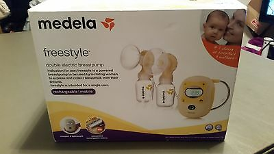 New OPEN BOX Medela freestyle Double electric breastpump rechargeable & mobile