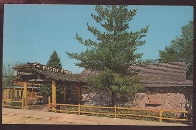 Rustic Manor Cocktail Lounge Restaurant Gurnee Illinois Postcard