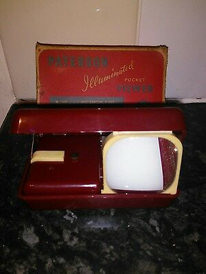 vintage pocket slide viewer made by paterson