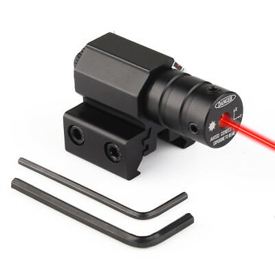 Tactical Red Laser Beam Dot Sight Scope for Gun Rifle Pistol Picatinny Mount