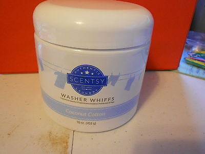 Scentsy Washer Whiffs (new) COCONUT COTTON