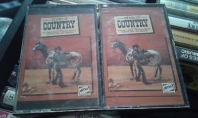 Stars Of Country Cassette Tape Albums