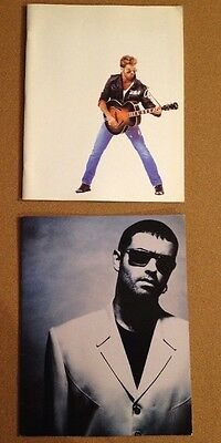 GEORGE MICHAEL Cover To Cover 91 & FAITH 88 tour program book