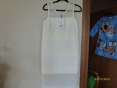 Camilla and Marc Enderman dress, BNWT. size 8. White RRP AUD $440.