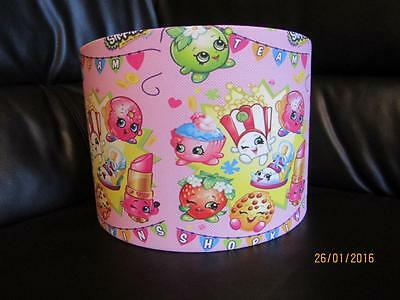 "SHOPKINS b 10"" DRUM CEILING LAMPSHADE LIGHTSHADE"