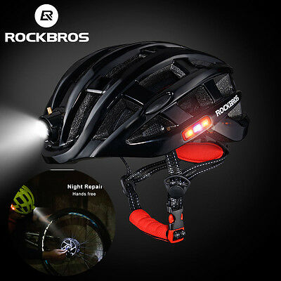 ROCKBROS Ultralight Cycling Helmet Road Bike MTB Light Helmet Size 57-62cm