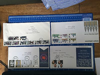 First Day covers Hastings, Cathedrals, Prince of Wales, Royal Wedding