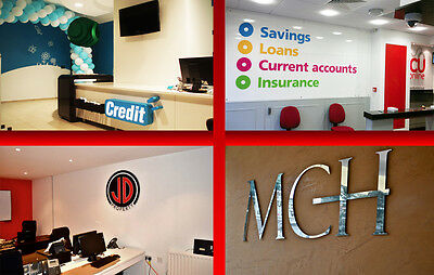 Interior and Exterior Signs/PVC Banners/Light Boxes/ Window signage/