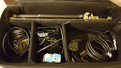 Lowel Go Pro-Visions Lighting Kit - 2 Heads, stands, case 500W