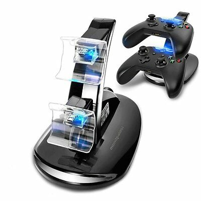 dock Station de Charge Base double chargeur pour Microsoft Xbox ONE