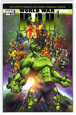 Marvel Comics - World War Hulk #1 - Aspen Comics Variant