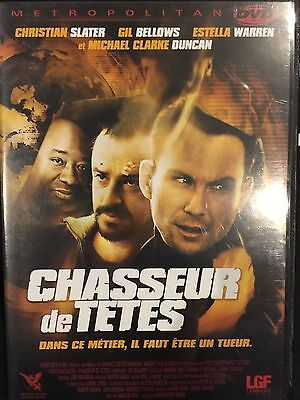 DVD - Comme neuf - CHASSEUR DE TETES -Zone 2 - CHRISTIAN SLATER