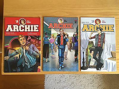 Lot De 3 Comics Archie