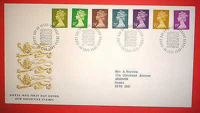 GB Definitive First Day Cover - 1991 Multiple Values