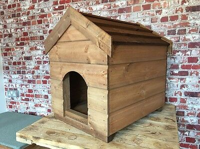 Medium Wooden CAT/Small Dog Kennel /shelter ~box/ Cat House