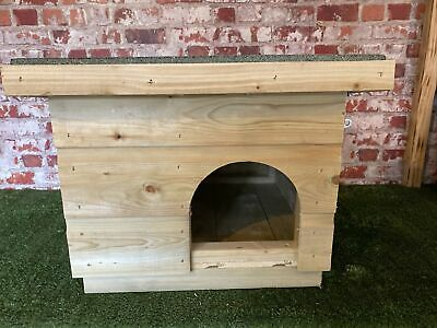 Wooden Dog Kennel Cat Kennel Tortoise/ Guinea Pig House ~Small Shelter outdoor
