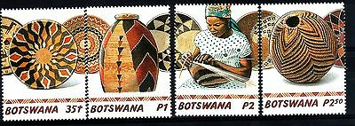 Botswana:2001:Traditional Baskets,Set.MNH.