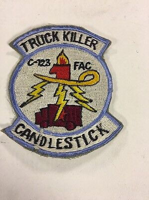 USAF 606th Special Operations Unit  Truck Killer Candlestick Patch Vietnam c1961