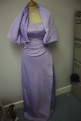 Romantica Lilac Dress  Ball, Prom, Pagent, Bridesmaid, Size 8-10 With Shawl