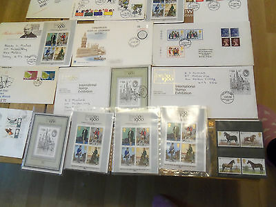 20 x First Day Cover stamps 1972 -1982 ... collection C