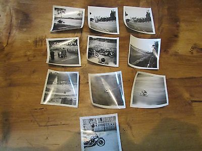 Vintage Isle of Man TT Photographs early set of 10 lot 2