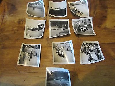 Vintage Isle of Man TT Photographs early set of 10 lot 3