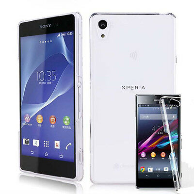 New Crystal Clear hard Case DIY cover for Sony Xperia Z Z1 Z2 Z3 Compact mini