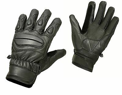 Summer Leather Motorcycle Gloves Motorbike Knuckle Pads