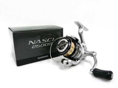 Shimano 13 NASCI 2500S Spinning reel silver gear 5.0  from Japan SCD