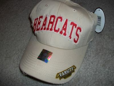 Cincinnati Bearcats Distressed Ball Cap New With Tags As Pictured